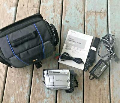 Sony Handycam CCD-TRV138 8mm Video8 HI8 Camcorder Video Transfer Nightshot Plus