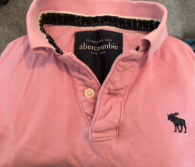 Abercrombie & Fitch Womens polo shirt (XL) size 10/12