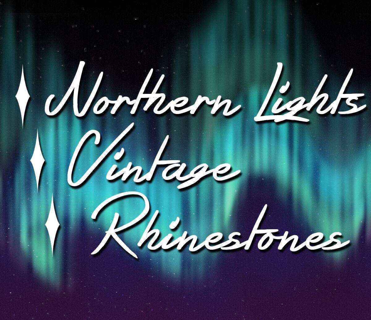 Northern Lights Vintage Rhinestones
