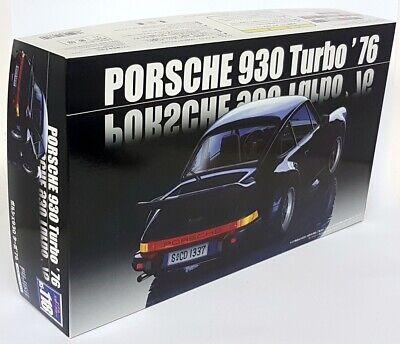 Fujimi 1/24 Scale Porsche 911 930 Turbo 1976 Build Yourself Plastic Model Kit