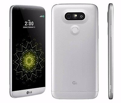 LG G5 H820 (Latest Scale model) - 32GB - Silver (AT&T) Smartphone Unlocked Any GSM