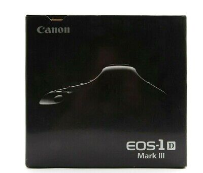 Canon EOS-1 D Mark III Box & Manual Only #B1024 for sale  Shipping to India