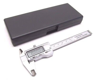 New 0 To 4 Electronic Digital Caliper - .001.01mm - Expedited Usa Shipping