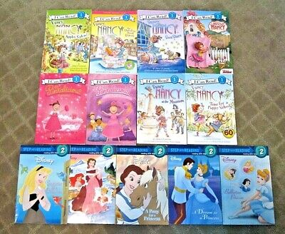 LOT I Can Read Level 1, Step into Reading Level 2 Readers Books Set of 13 EUC