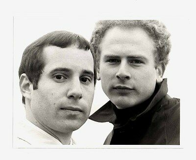 1969 CBS SIMON & GARFUNKEL TV SPECIAL Original 7x9 PAUL SIMON Art Garfunkel