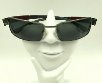 Mustang Drift 0302 Gunmetal Rectangle Sunglasses Eyeglasses Frames (Mustang Sunglasses)
