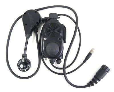 Scott Envoy Ez- Radiocom 805262 Com To Com Radio Ptt Facepiece Fire Voice Amp 2