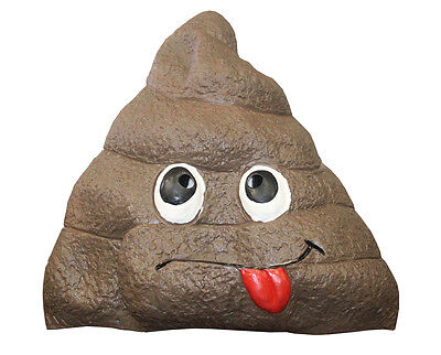 Doo Doo Giant Poop Fake Doody Head Latex Adult Mask