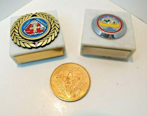 Vintage Boy Scout Lot Diamond Jubilee & Narragansett Council Yawgoog Scout Reser