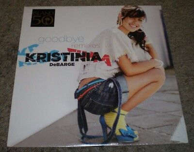 Goodbye Remixes Kristinia DeBarge~SEALED~2009 House 12