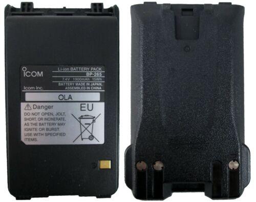 NEW OEM ICOM BP-265 LI-ION BATTERY FOR F3001 F4001 F4101D F3101D RADIOS BP265