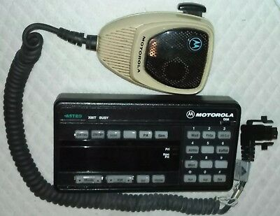 Motorola Astro Spectra W9 Face Platecontrol Head Systems 9000 Hcn1078 W Hmn1061