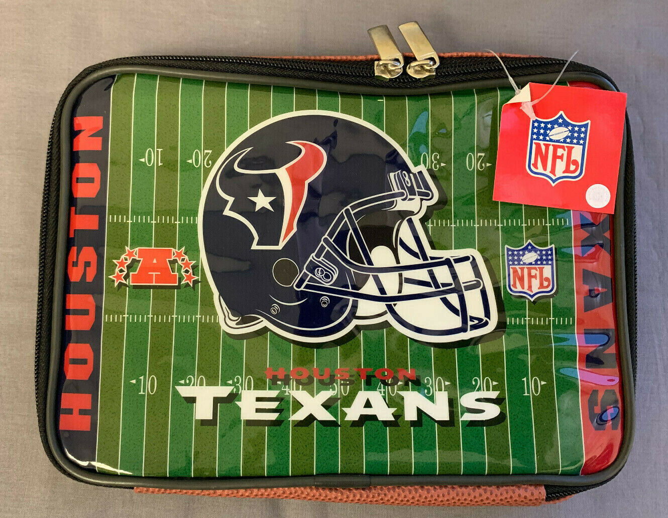 Houston Texans Insulated Soft Sided Lunch Box NFL Officially