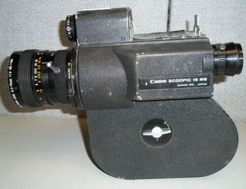 Canon Scoopic 16 MS 16mm Camera  **SEE PICTURES**