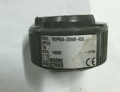 Moore Industries Trxprg4-20ma8-42dc Temperature Transmitter - Warranty