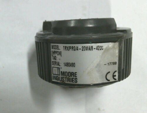 Moore Industries TRX/PRG/4-20MA/8-42DC temperature transmitter - Warranty