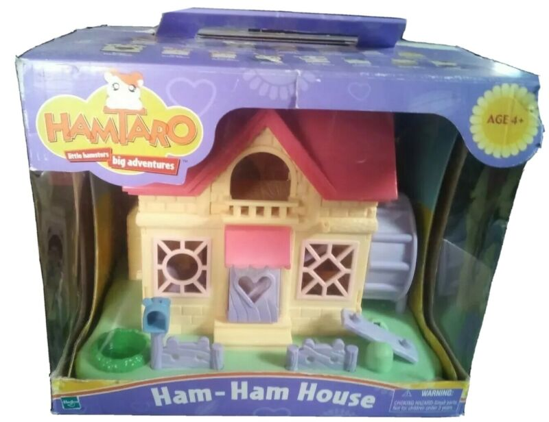 Hamato Ham - Ham House by Hasbro 2002 Cute and in Good Condition!