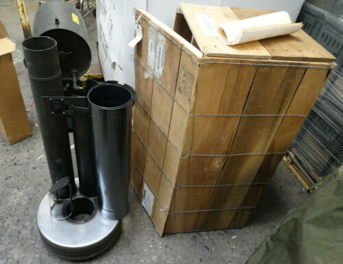 US Military Liquid Fuel Fired M67 Immersion Heater (BRAND NEW IN THE WOOD CRATE)