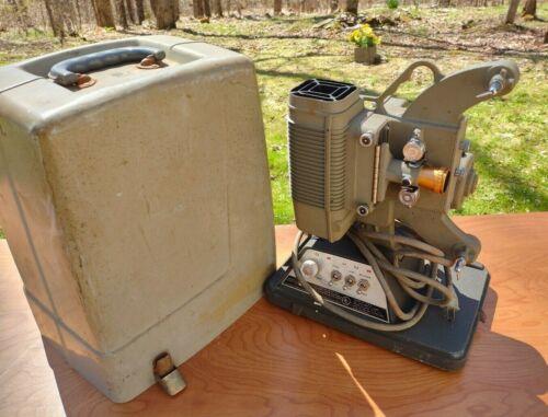 1950s DeJur 750-B Custom 8mm Film Projector Bulb Works AS IS please read