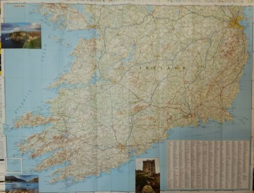 Ireland Laminated Wall Map (K)