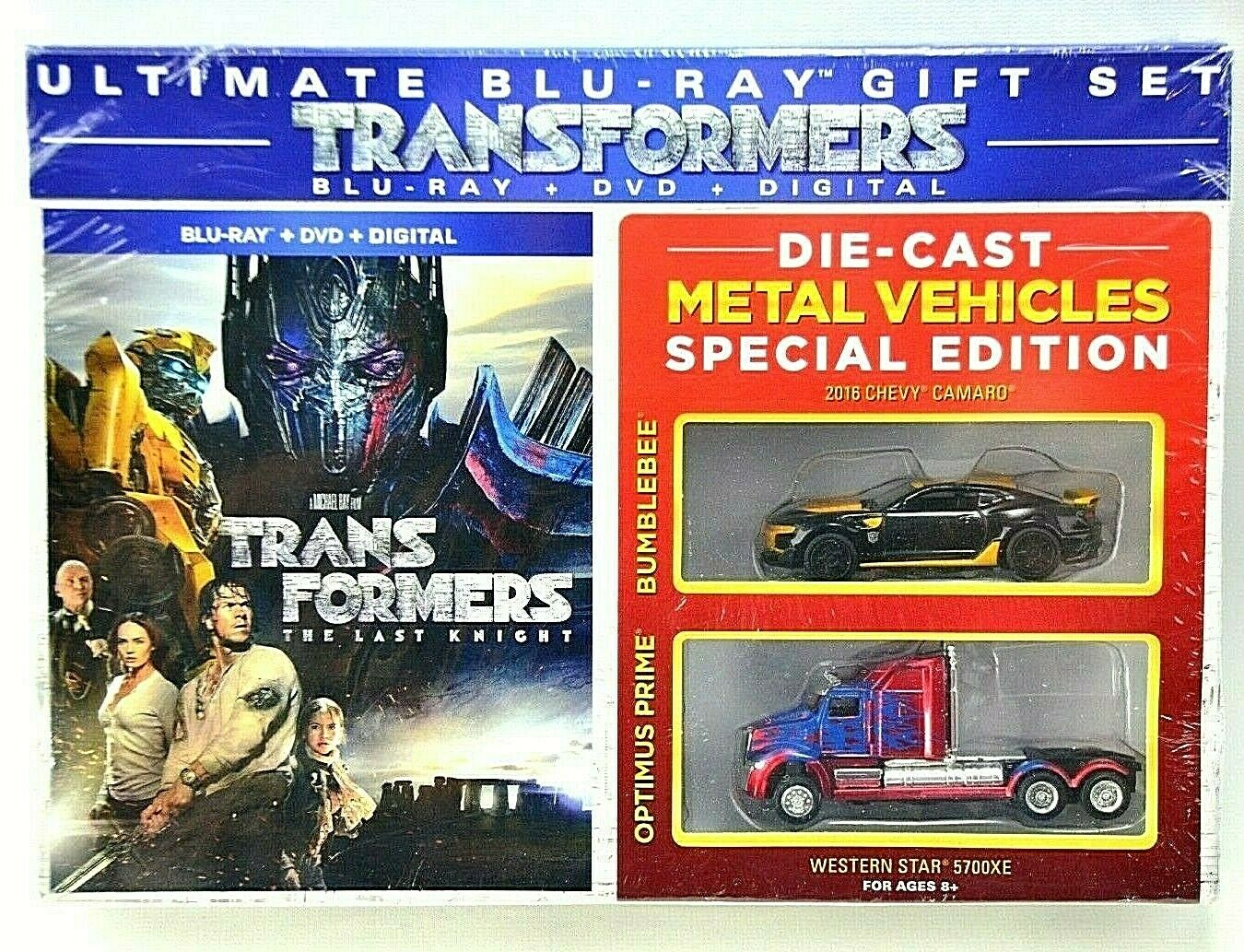Transformers The Last Knight Ultimate Gift Set (Blu-Ray+DVD