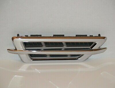 2008 2009 2010 2011 CADILLAC STS RIGHT PASSENGER FENDER CHROME TRIM EMBLEM OEM