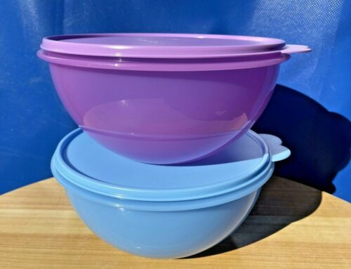 Tupperware Wonderlier Bowl 12 Cup ~ 2.8L  Container Storage Set of 2Color New