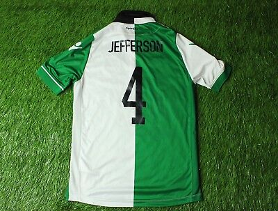 SPORTING LISBON JEFFERSON 2015-2016 FOOTBALL SHIRT JERSEY THIRD MACRON ORIGINAL image