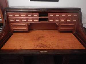 Cutler roll top desk Woodvale Joondalup Area Preview