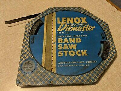 Lenox Neo-type 100 12 025 10 Tooth Raker Diemaster Band Saw Stock Coil.