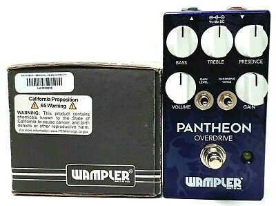 used Wampler Pantheon Overdrive, Very Good Condition with Box