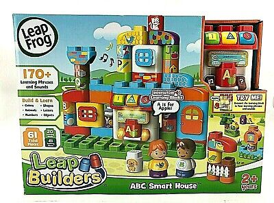 Leap Frog Leap Builders | 61 Pieces | Interactive Learning Blocks (TOY257)