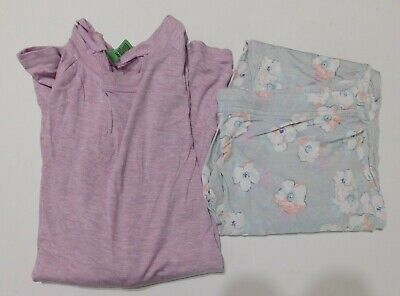 Honeydew 2 PC Lounge Pants Size SMALL Purple Floral  NEW