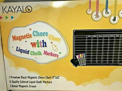 17 X 12 Magnetic Dry Erase Board By Kayalo. Board Liguid Markers Eraser