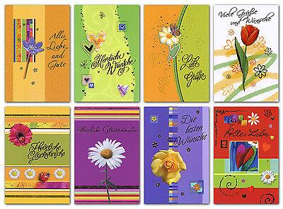 chiedene Anlässe Glückwunschkarten Danke Alles Gute 41-1980 (100 Danke Karten)