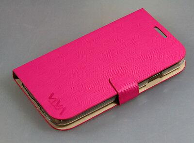 Viva Bookstyle Handytasche für Samsung Galaxy S4, i9500, SlV, Schutzhülle, Hü... Slv Tasche