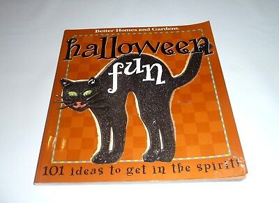 Better Homes & Gardens Paper Back Halloween Fun 101 DIY Ideas  - Fun Halloween Diy