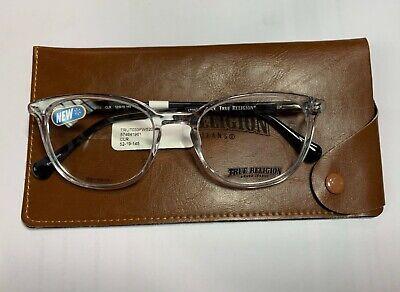 New True Religion Black Plastic Eyeglasses Frames (True Religion Glasses Frames)