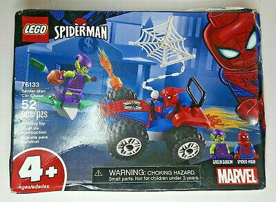 Lego Spider-Man Car Chase (76133) Marvel 52 Piece Set Age 4+ NEW Damaged Box
