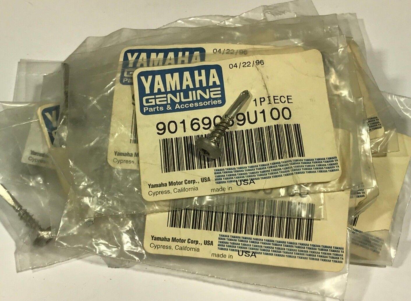 QTY 14 NEW OEM YAMAHA FX1000 GP1200 RA700 WVT1100 TAPPING SCREW 90169-059U1-00