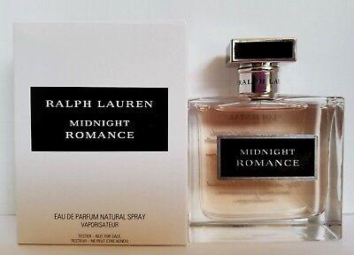 Midnight Romance By Ralph Lauren Eau De Parfum 3 4Oz 100Ml Natural Spraytstr Box