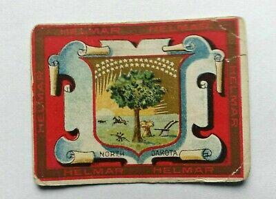 "T107 1910 Helmar US States -- ""North Dakota & New York"" -- see pics"