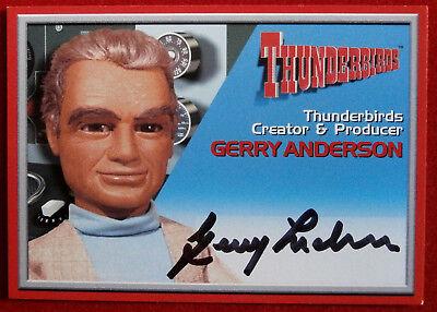 Thunderbirds - GERRY ANDERSON, Creator - Autograph Card - Cards Inc 2001