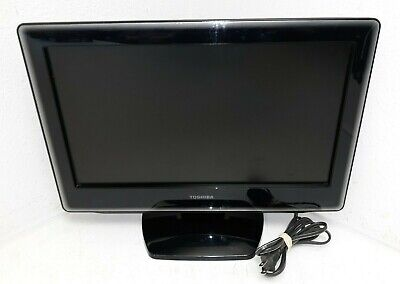 Toshiba 19LV610U 19 Inch LCD TV/DVD Player PC Monitor HDMI - WORKS