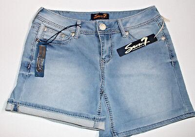 Authentic Premium Quality Seven 7 Jeans Est.1964, Ladies' Knit Denim Short - Premium Quality Ladies Short