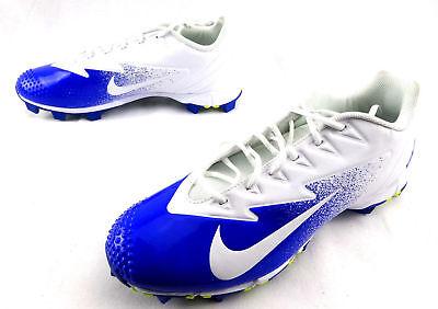 59050d01b Nike Vapor Ultrafly Keystone Baseball Cleats White Blue 852688-417 Men s  Size 13