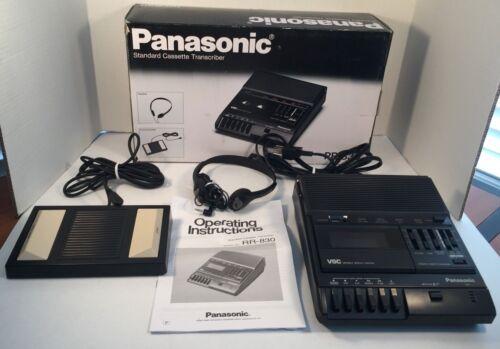 Panasonic RR-830 Standard Cassette Transcriber Recorder #3 READ