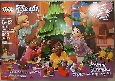 LEGO 41353 Lego Friends Christmas Advent Calendar 500pcs 24 Gifts Ages 6-12 New