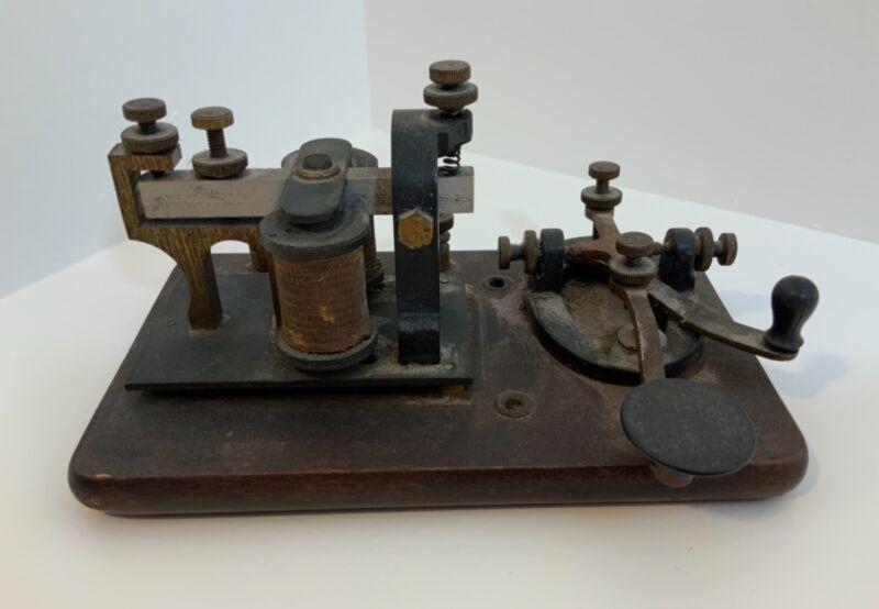 Signal Leaner M-110 Telegraph Key Vintage 1920