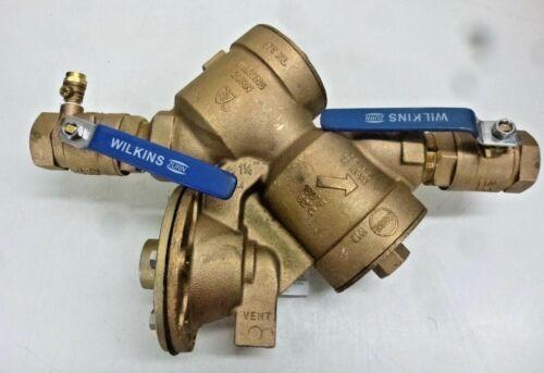 NEW ZURN WILKINS 114-975XL Reduced Pressure Zone Backflow Preventer